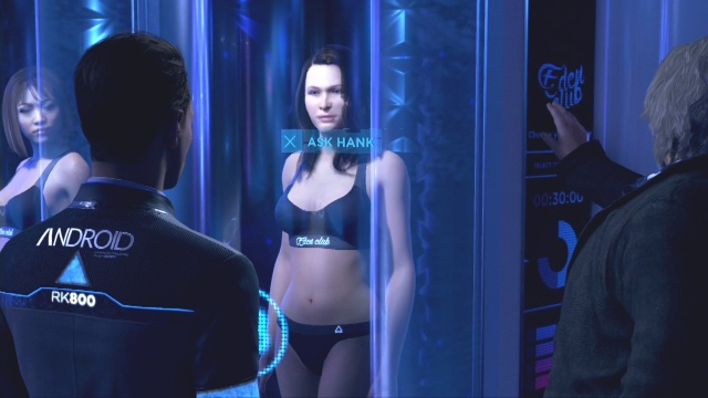 Connect with android to find android eyewitnesses to find the second android in Detroit: Become Human.