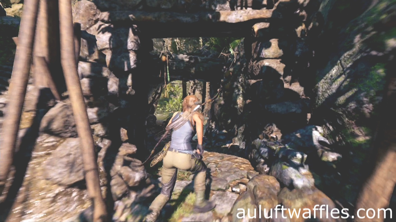 Get Across Bridge Rough Landing Peruvian Jungle Shadow of
