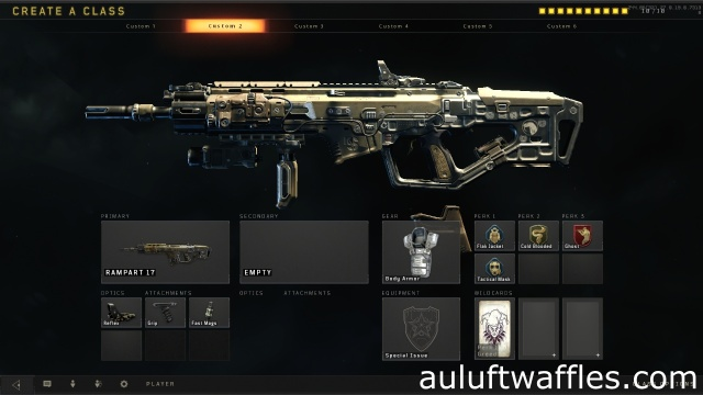 Rampart 17 Assault Rifle Best Class Setup Call of Duty Black Ops 4