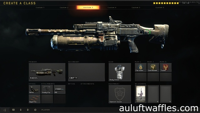 Hades Light Machine Gun Best Class Setup Call of Duty Black Ops 4
