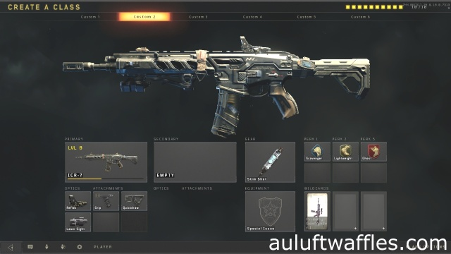 ICR-7 Assault Rifle Best Class Setup Call of Duty Black Ops 4