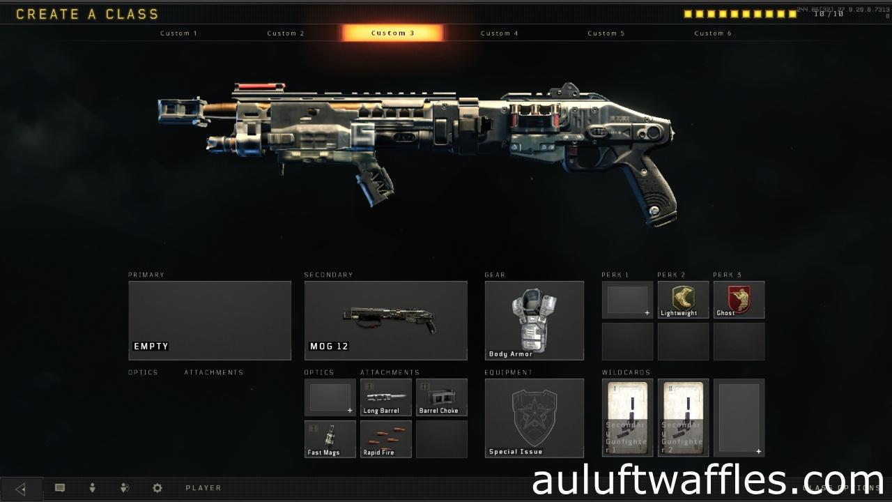 MOG 12 Shotgun Best Class Setup Weapon Guide Call of Duty Black Ops