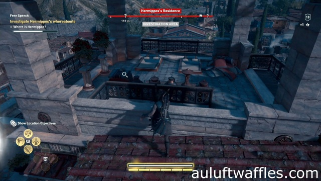 Investigate the chest to investigate Hermippos's whereabouts in free speech in Attika in Assassin's Creed Odyssey