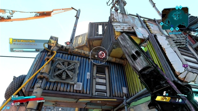 Shoot the water pipe to Find the Red Chest in Dump Truck for Ellie in The Droughts in Borderlands 3
