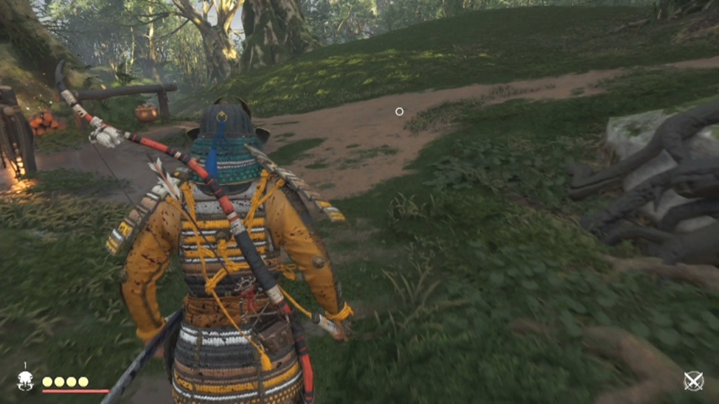 Investigate the footsteps to Search the Camp for Signs of Tomoe The Terror of Otsuna Ghost of Tsushima