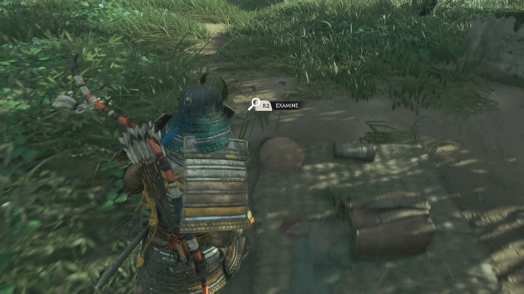Examine the foot steps to Search the Campfire The Coward of Yarikawa Ghost of Tsushima