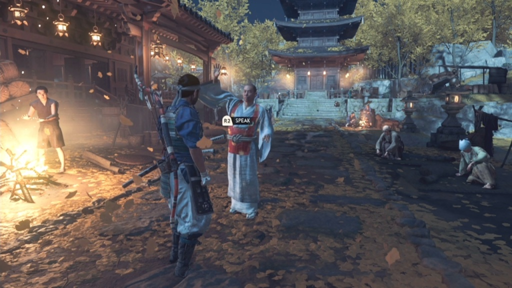 Speak to the monk to Look for Sogen The Tale of Lady Masako Ghost of Tsushima