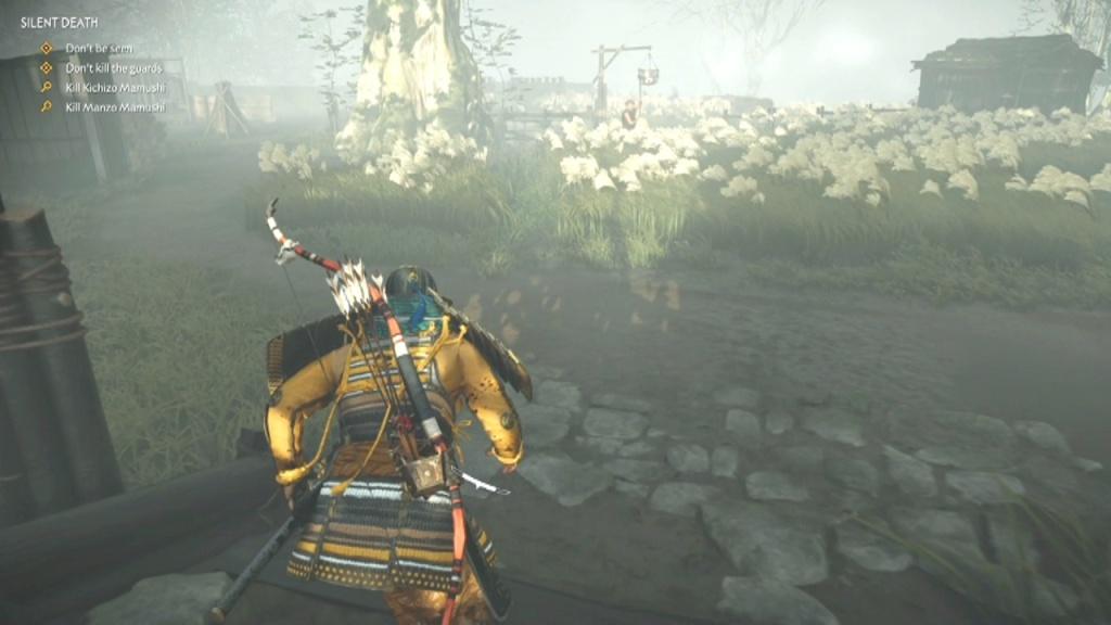 Go into the tall grass to Kill Kichizo, Taizo and Manzo Mamushi Silent Death Ghost of Tsushima