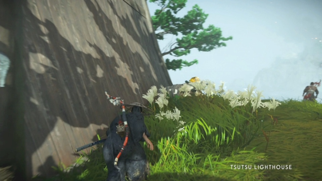 Go around the lighthouse to Disable the Alarm in the Lighthouse The Tale of Ryuzo Ghost of Tsushima