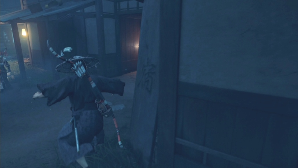 Go into the house ahead to Find a Way through the Market The Broken Blacksmith Ghost of Tsushima